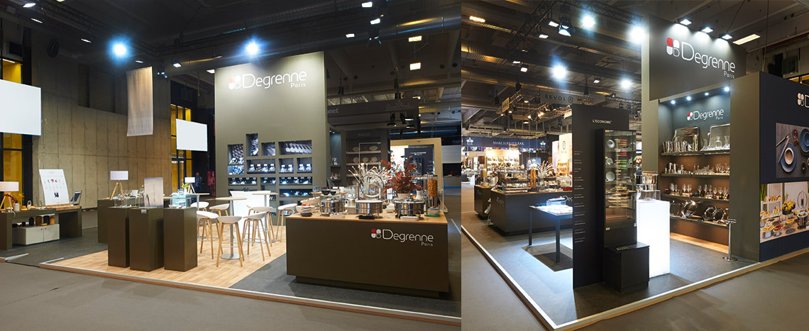 Trade show booth for guy degrenne expace - Boutique guy degrenne paris ...