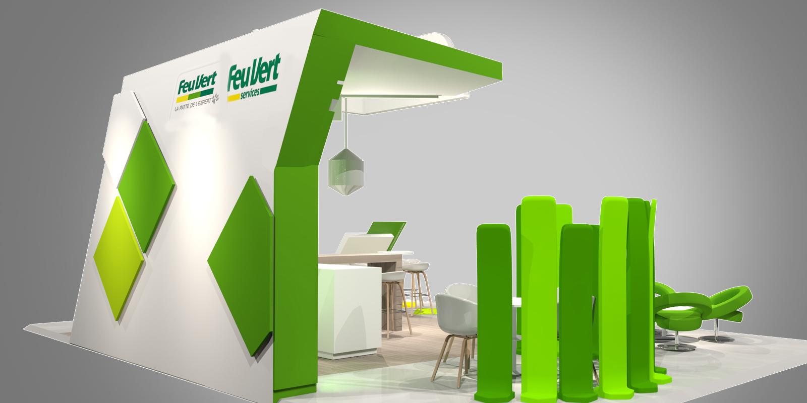 Stand salon pour feu vert expace fabricant de stand for Fabricant de stand pour salon