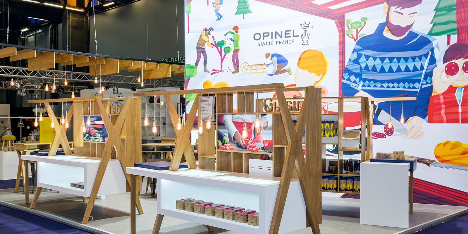 expace-stand-showroom-event-solutions-mobiles-banners-projets_0022_stand – 63m2 – Opinel – Maison et Objet – Paris – jan