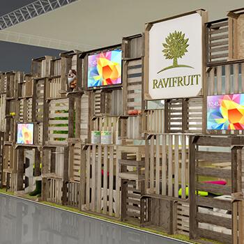 Stand Sur Mesure Pour Ravifruit Expace Concepteur De Stand