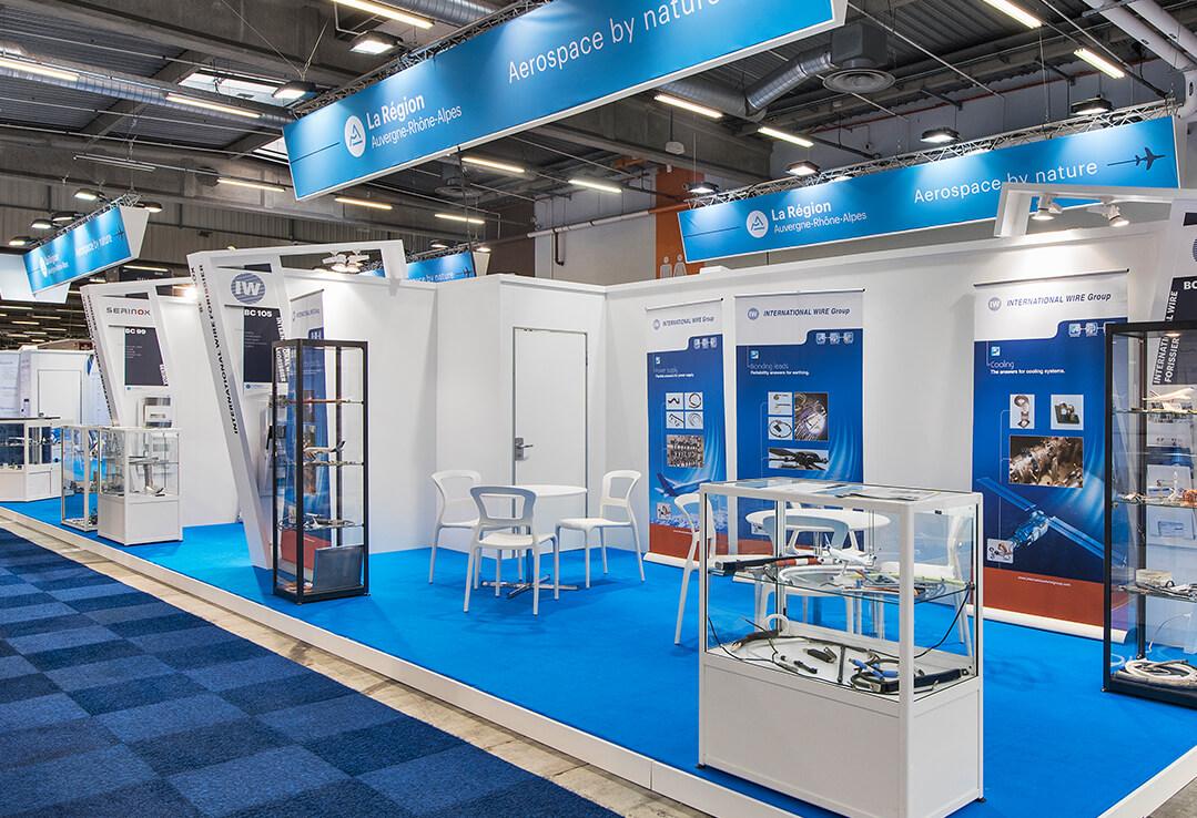 Conception de stand pour la cci expace fabricant de stand for Fabricant de stand pour salon